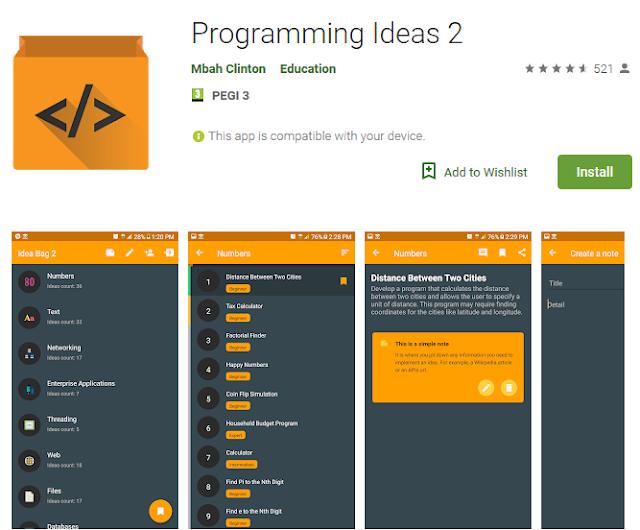 Programming Ideas 2