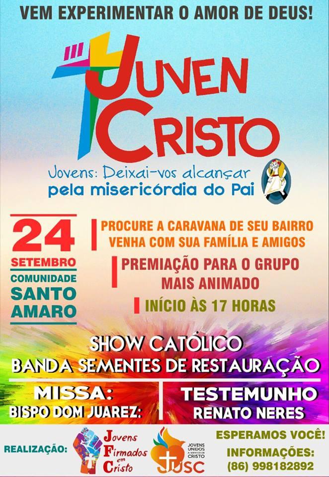 Participe do III  JUVEN CRISTO