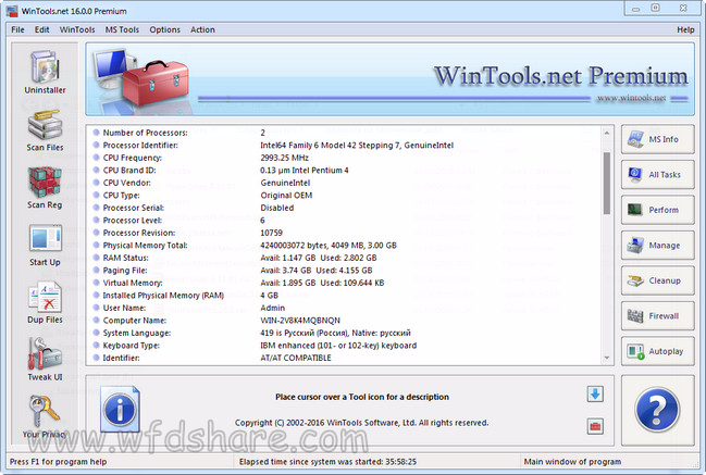 WinTools.net Premium full version gratis work crack