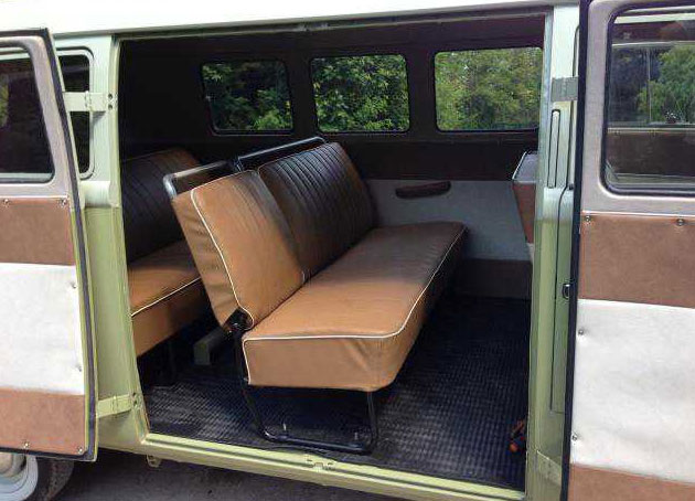Vw Bus Mango Interior
