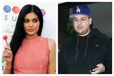 Rob Kardashian just tweeted Kylie Jenner's phone number