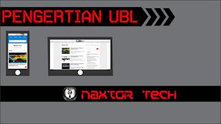 Pengertian UBL