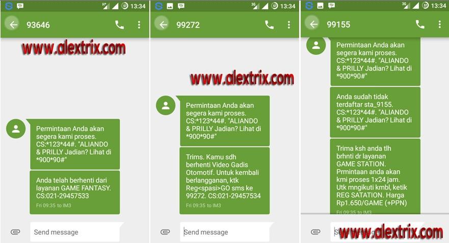 4 cara unreg layanan sms penyedot pulsa im3 ooredo