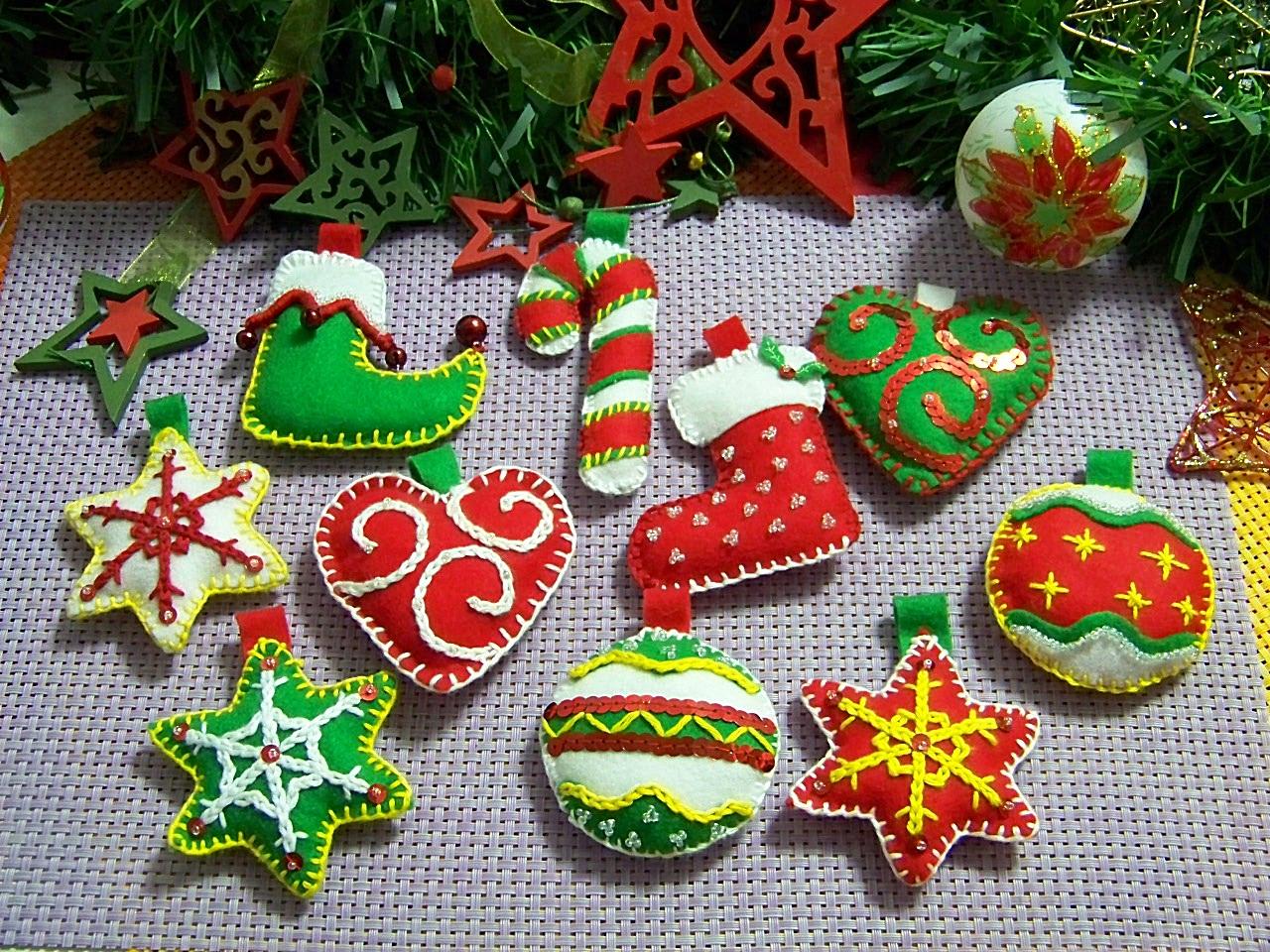 Mi cocinita de juguete feliz navidad mis adornos - Arbol de navidad adornos ...
