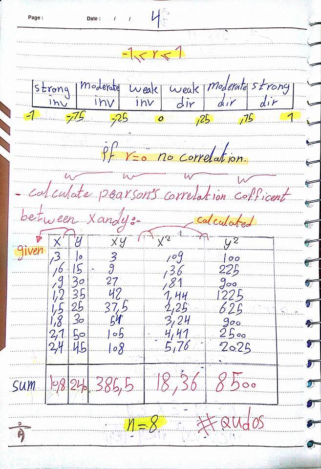 المحاضره التانية احصاء  اولي باور هندسة اكاديمية الشروق (standard deviation-coefficent of variation-pearson correlation)