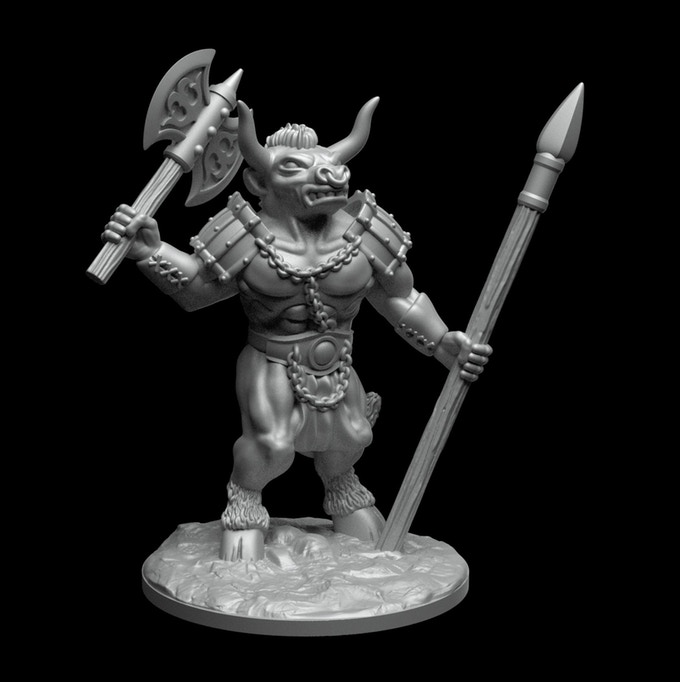 "picture regarding Printable Miniatures known as Tenkars Tavern: Kickstarter - DRAGONLOCKâ""¢ 3D Printable"