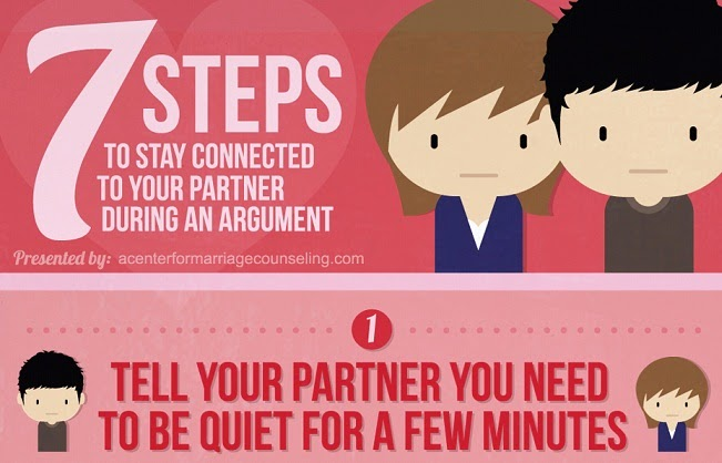 Image: 7 Steps To Stay Connected To Your Partner During An Argument
