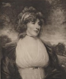 Elizabeth Lamb, Viscountess Melbourne  by Braun, Clement & Co, after John Hoppner  © National Portrait Gallery, London