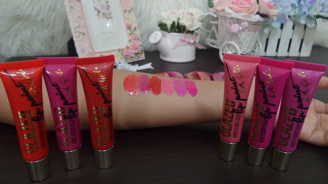 New LA GIRL GLAZED Lip Paint LA GIRL