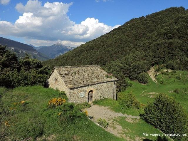 Ermita Juan y Pablo, Tella, Pirineo Aragonés