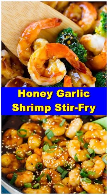 Honey Garlic Shrimp Stir-Fry