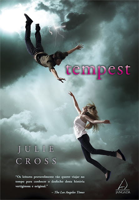 News: Capa nacional do livro Tempest, de Jolie Cross. 17