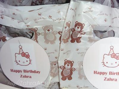 Doorgift, sambutan birthday anak