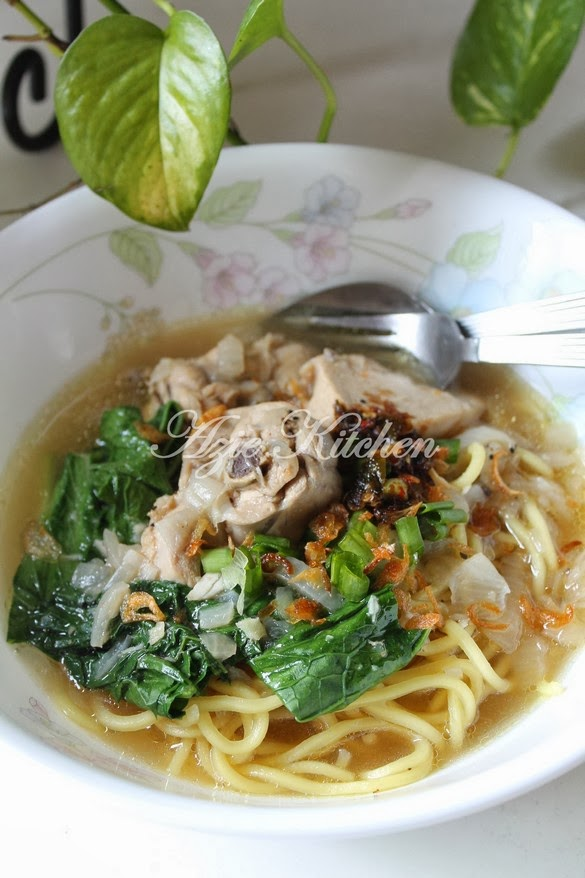 Mee Sup Istimewa Yang Sangat Sedap Azie Kitchen