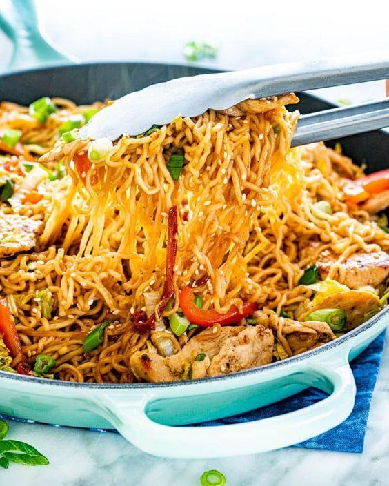 Resep Masakan Bihun Kering (Mee Grob) Khas Thailand