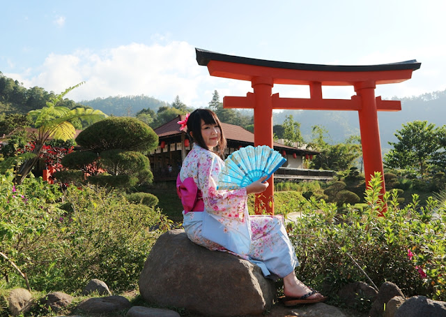 Suasana Khas Jepang di The Onsen Resort #MeisUniqueBlog