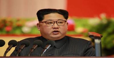 الزعيم الكورى الشمالى كيم جونغ أون