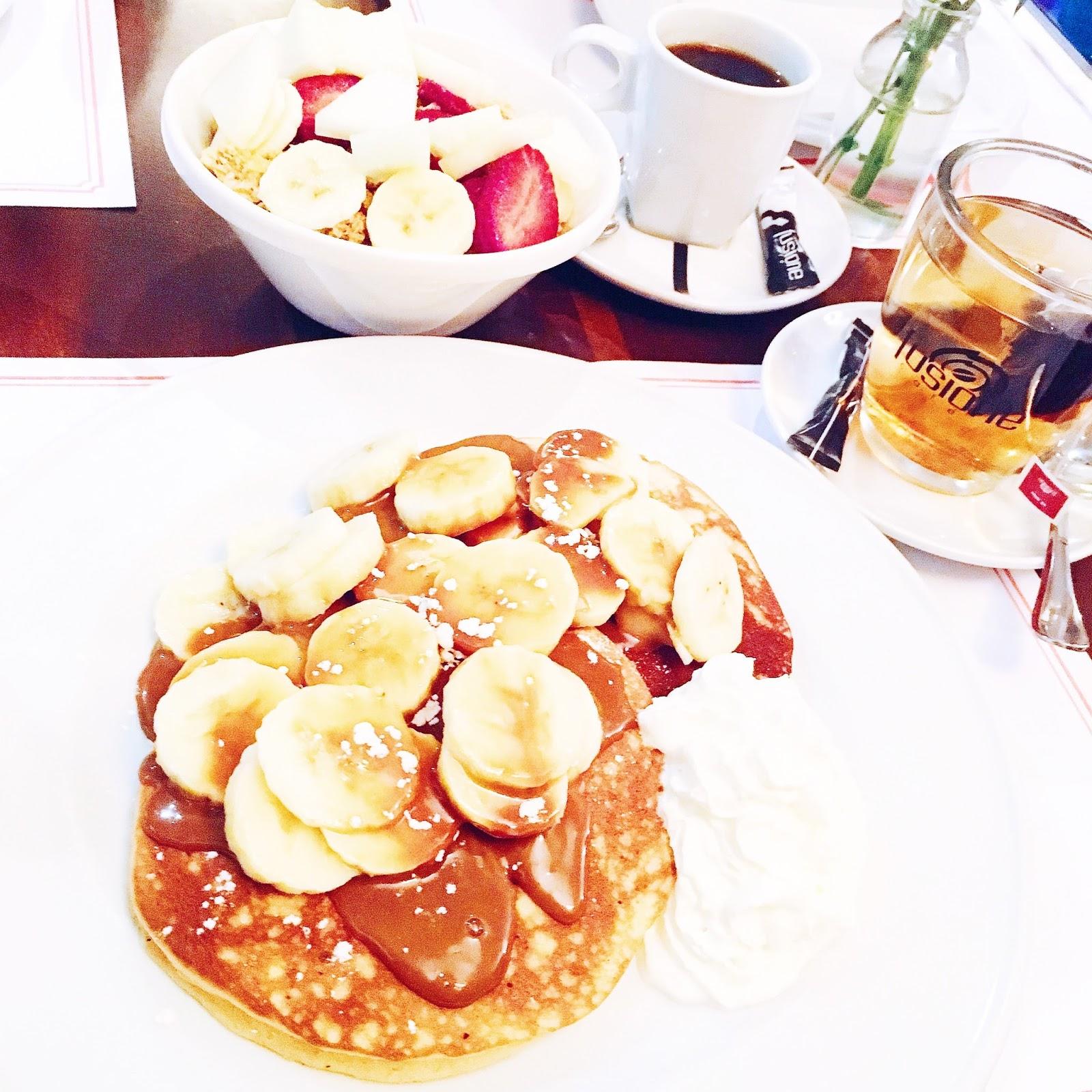Barcelone brunch pancakes