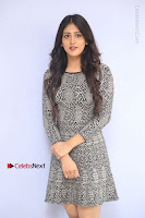 Actress Chandini Chowdary Pos in Short Dress at Howrah Bridge Movie Press Meet  0016.JPG