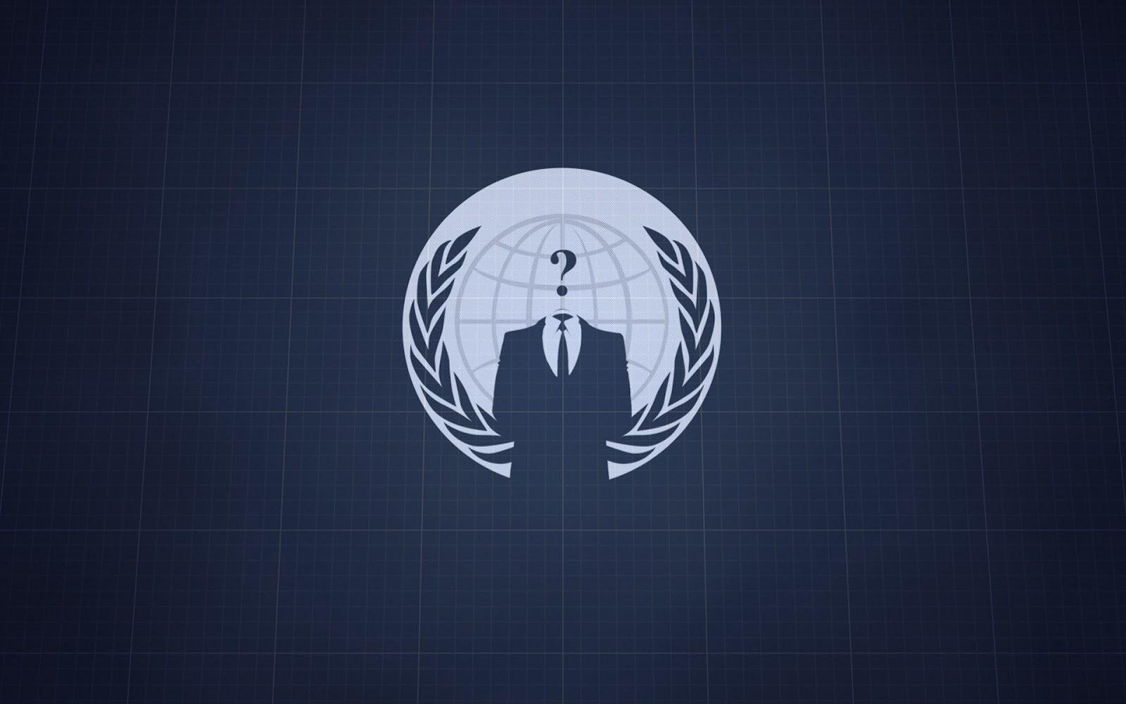 Papier Peint Anonymous