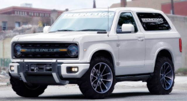 2018 Ford Bronco Release Date Price
