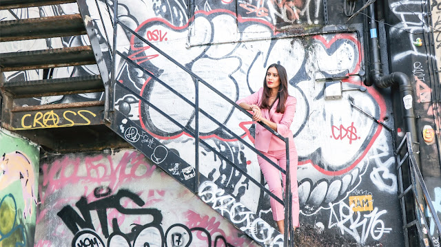 London fashion blogger Reena Rai shot in Shoreditch