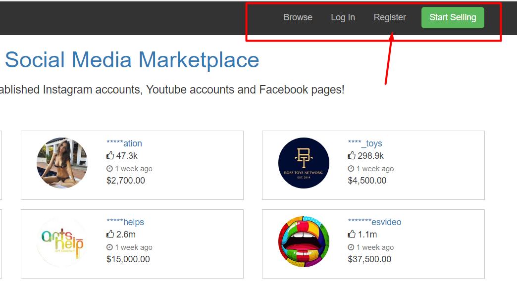 ab8248ce901bd موقع بيع وشراء قنوات اليوتيوب و حسابات الانستقرام - محترفي التقنية