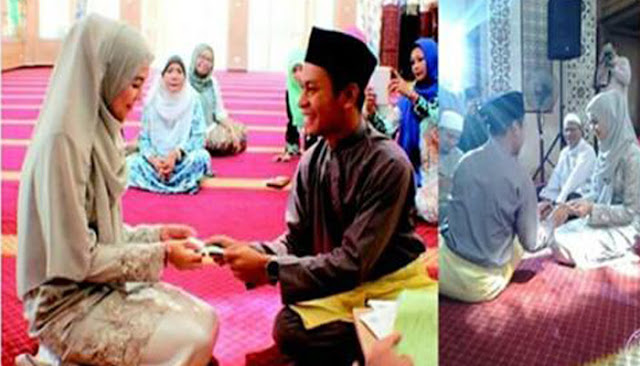Menikah Hanya Menghabiskan Biaya 2 Juta, Alasan Pasangan ini Bikin Haru Para Netizen!