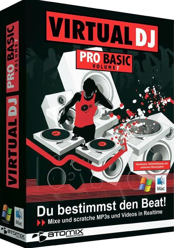 get virtual dj pro 8 full + crack and keygen