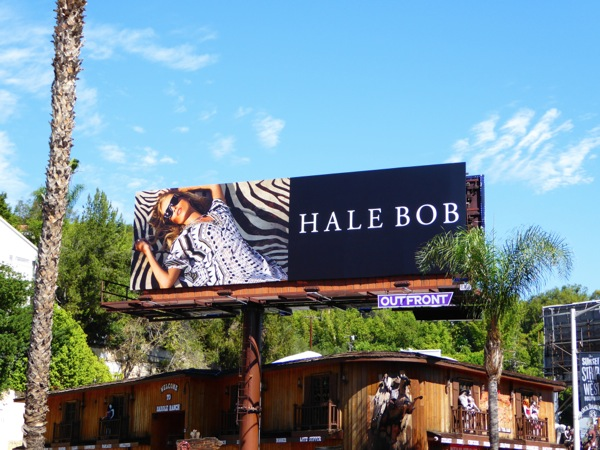 Hale Bob F/W 2015 fashion billboard