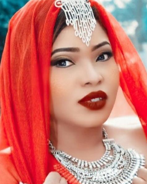 halima abubakar bleaching skin