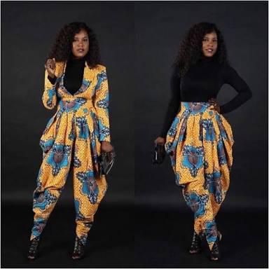 Adanze S Lookbook 13 Ankara Jumpsuit Styles