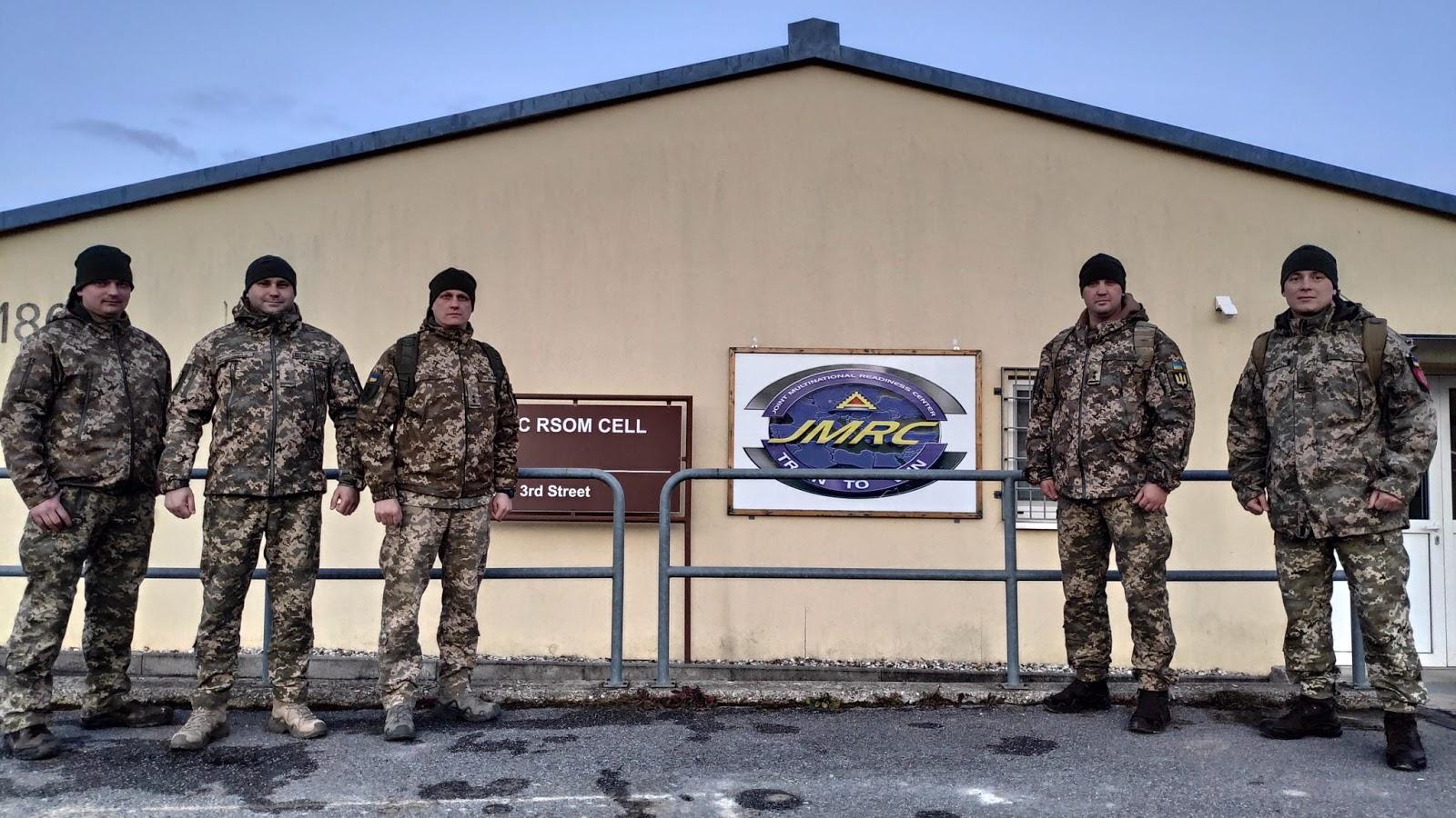 Офіцери ЗСУ беруть участь у навчанні Combined Resolve XIII