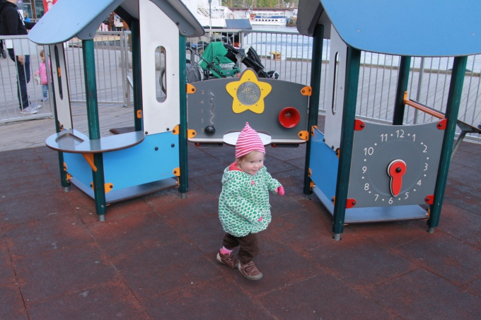 Oslossa lasten kanssa / leikkipaikat