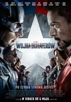 Kapitan Ameryka: Wojna bohaterów plakat