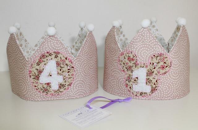 coronas de cumpleaños para hermanas
