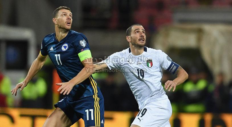 بثلاث اهداف لهدف ايطاليا تحقق الفوز على منتخب البوسنة والهرسك في التصفيات المؤهلة ليورو 2020