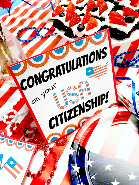 michelle paige blogs USA Citizenship Party and Printables