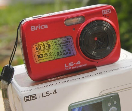 jual kamera digital bekas Brica LS-4