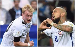Alemania vs Chile en Copa FIFA Confederaciones Rusia 2017