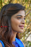 Tamil Actress Sanchita Shetty Latest Pos in Blue Dress at Yenda Thalaiyila Yenna Vekkala Audio Launch  0001.jpg