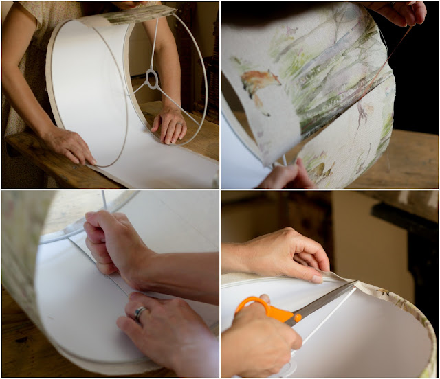 How to make a lamp shade