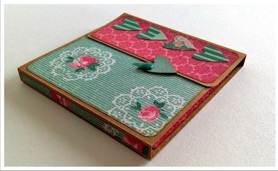 Mini album en acordeon scrapbooking