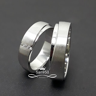 cincin kawin nikah lamaran tunangan couple pasangan wedding ring custom muslim