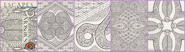 kleurboek mosaics