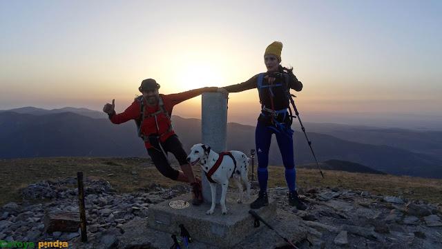 """Ruta al Pico San Lorenzo """"techo de La Rioja"""" en la Sierra de la Demanda."""