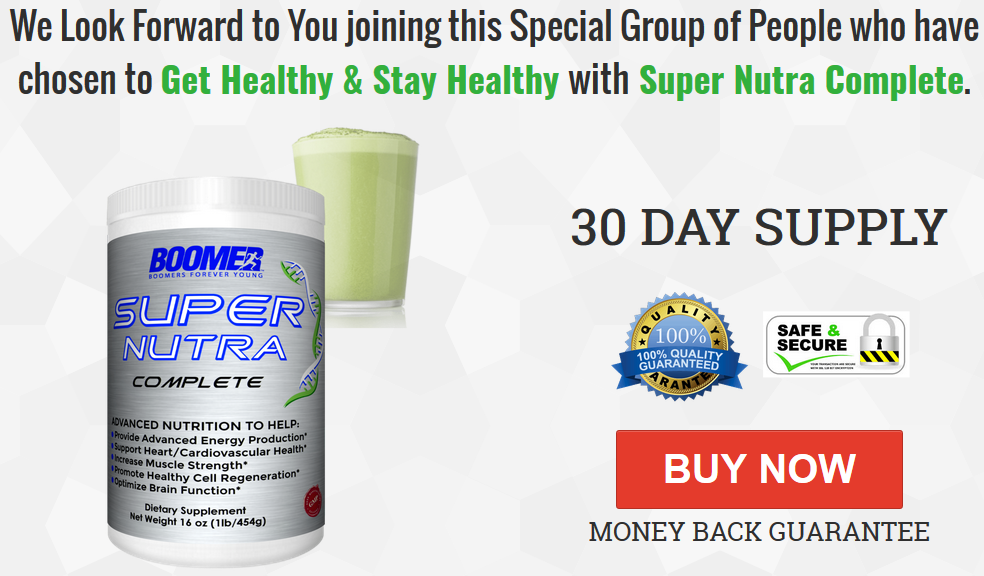 Super Nutra - Nutrional Supplement