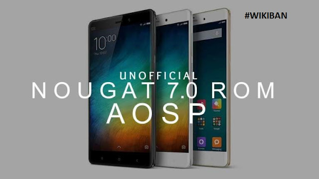 AOSP ROM download, install for Xiaomi mi 3 and mi 4