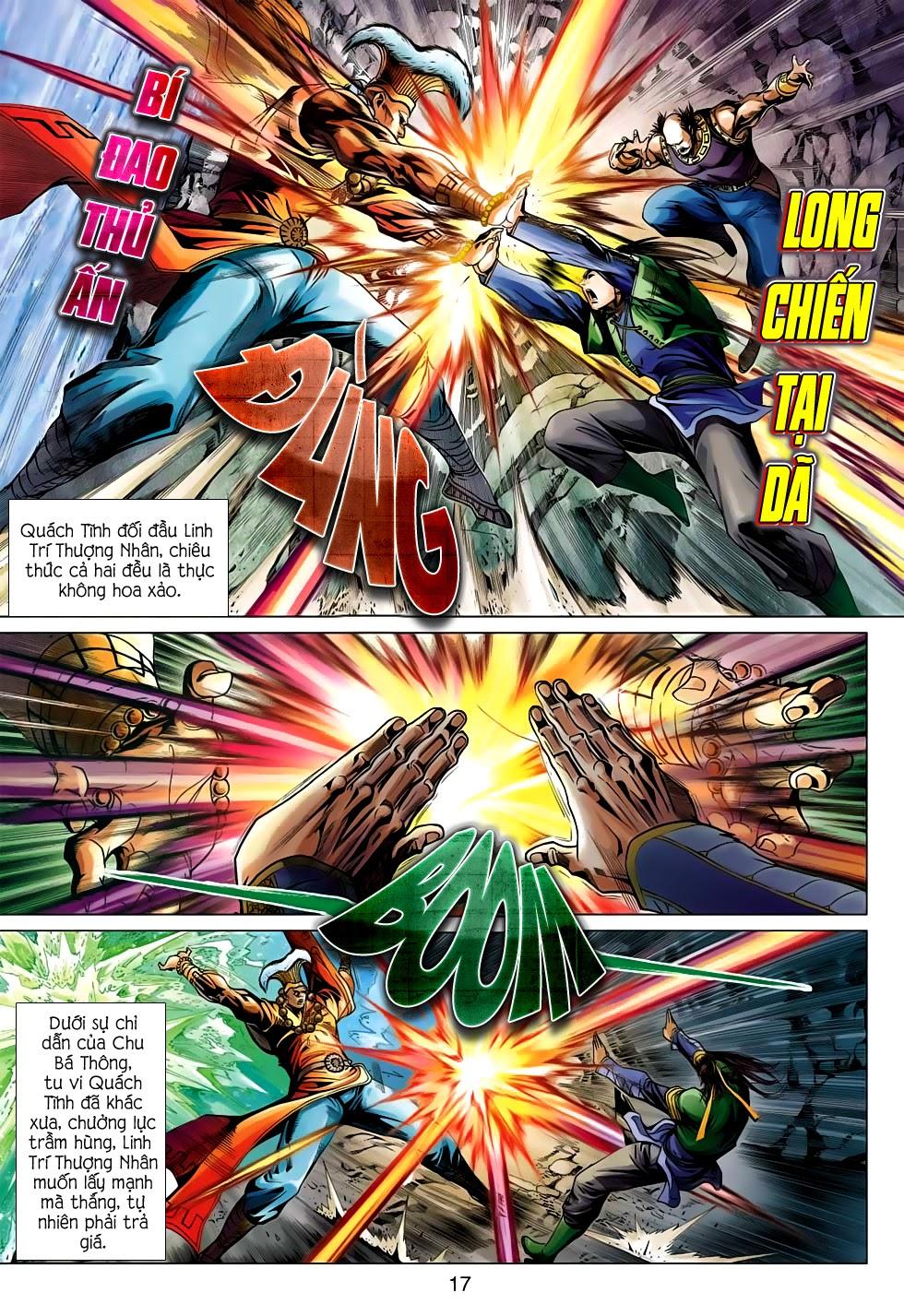 Anh Hùng Xạ Điêu anh hùng xạ đêu chap 56: tuyệt tình vô nghĩa lãnh huyết ác niệm trang 17