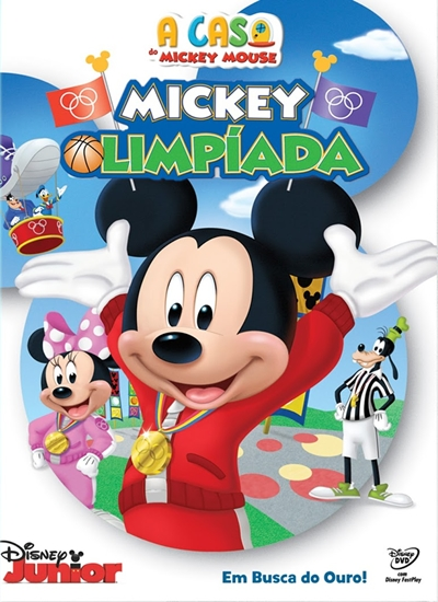 Baixar A Casa do Mickey Mouse Mickey Olimpíada AVI Dual Áudio DVDRip Torrent